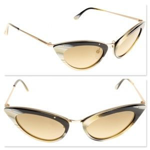 New TOM FORD Grace Cat Eye Sunglasses